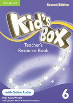 Kid's Box Level 6 Teacher's Resource Book with Online Audio - Kate Cory-Wright
