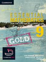 Essential Mathematics Gold for the Australian Curriculum Year 9 and Cambridge Hotmaths - David Greenwood