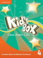 Kid's Box Level 4 Class Audio CDs (3) - Caroline Nixon