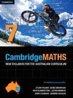 Cambridge Mathematics NSW Syllabus for the Australian Curriculum Year 7 and Hotmaths Bundle Book and Online Product : Essential Mathematics - Stuart Palmer