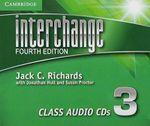 Interchange Level 3 Class Audio CDs (3) : Interchange Fourth Edition - Jack C. Richards