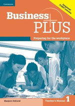 Business Plus Level 1 Teacher's Manual - Margaret Helliwell