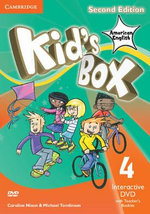Kid's Box American English Level 4 Interactive DVD (NTSC) with Teacher's Booklet - Caroline Nixon