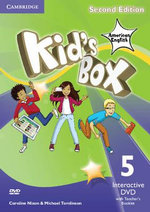 Kid's Box American English Level 5 Interactive DVD (NTSC) with Teacher's Booklet - Caroline Nixon