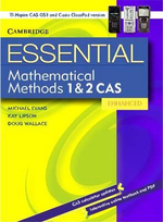 Essential Mathematical Methods CAS 1&2 Enhanced TIN/CP Version 652354 - Michael Evans