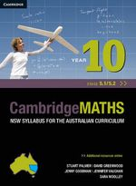 Cambridge Mathematics NSW Syllabus for the Australian Curriculum Year 10 5.1 and 5.2 - Stuart Palmer