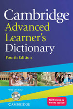 Cambridge Advanced Learner's Dictionary with CD-ROM - IDM
