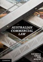 Australian Commercial Law - Dilan Thampapillai