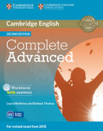 Complete Advanced Workbook with Answers with Audio CD : Complete - Laura Matthews