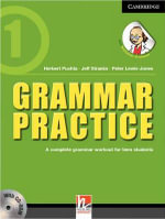 Grammar Practice Level 1 Paperback with CD-ROM : A Complete Grammar Workout for Teen Students - Herbert Puchta