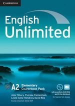 English Unlimited Elementary Coursebook with e-Portfolio and Online Workbook Pack - Alex Tilbury