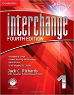 Interchange Level 1 Full Contact with Self-study DVD-ROM : Basic Pronunciation and Listening Comprehension in... - Jack C. Richards