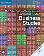 Cambridge IGCSE Business Studies Coursebook with CD-ROM : Cambridge International Examinations - Mark Fisher