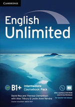 English Unlimited Intermediate Coursebook with e-Portfolio and Online Workbook Pack - Alex Tilbury