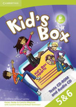 Kid's Box Levels 5-6 Tests CD-ROM and Audio CD - Camilla Mayhew