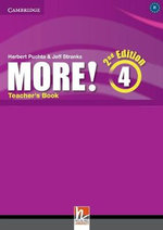 More! Level 4 Teacher's Book : Level 4 - Cheryl Pelteret