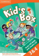 Kid's Box American English Levels 3-4 Tests CD-ROM and Audio CD - Karen Saxby