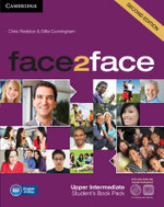 Face2face Upper Intermediate Student's Book with DVD-ROM and Online Workbook Pack - Chris Redston