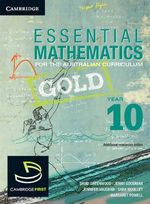 Essential Mathematics Gold for the Australian Curriculum Year 10  : Essential Mathematics - David Greenwood