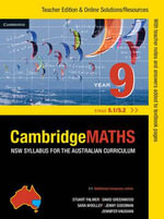 Cambridge mathematicsNSW Syllabus for the Australian Curriculum Year 9 5.1 and 5.2 - Jenny Goodman