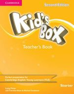 Kid's Box Starter Teacher's Book - Lucy Frino