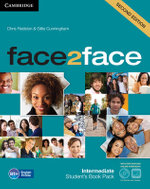 face2face Intermediate, Student's Book with DVD-ROM and Online Workbook Pack - Chris Redston
