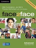 Face2face Advanced Class Audio CDs (3) : ' - Gillie Cunningham