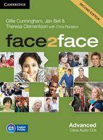 Face2face Advanced Class Audio CDs (3) : ' - Gillie Cunningham