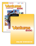 Ventures Basic Digital Value Pack (Student's Book with Audio CD and Online Workbook) - Gretchen Bitterlin