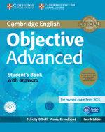 Objective Advanced Student's Book Pack (Student's Book with Answers with CD-ROM and Class Audio CDs (2)) - Felicity O'Dell