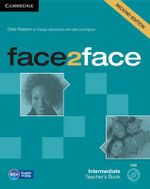 Face2face Intermediate Teacher's Book with DVD - Chris Redston