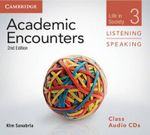 Academic Encounters Level 3 Class Audio CDs Listening and Speaking : Life in Society - Kim Sanabria