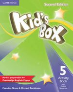 Kid's Box Level 5 Activity Book with Online Resources - Caroline Nixon