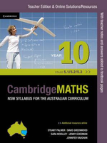 Cambridge Mathematics NSW Syllabus for the Australian Curriculum Year 10 5.1, 5.2 and 5.3 Teacher Edition - Jenny Goodman