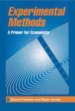 Experimental Methods : A Primer for Economists - Daniel Friedman