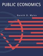 Public Economics - Gareth D. Myles