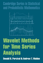Wavelet Methods for Time Series Analysis - Donald B. Percival