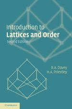 Introduction to Lattices and Order - B. A. Davey