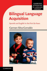Bilingual Language Acquisition - Carmen Silva-Corvalán