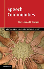 Speech Communities - Marcyliena Morgan