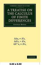 A Treatise on the Calculus of Finite Differences - George Boole