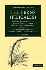 The Ferns (Filicales): Volume 2, the Eusporangiatae and Other Relatively Primitive Ferns : Treated Comparatively with a View to their Natural Classification :  Volume 2, the Eusporangiatae and Other Relatively Primitive Ferns : Treated Comparatively with a View to their Natural Classification - F. O. Bower
