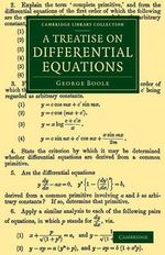 A Treatise on Differential Equations - George Boole