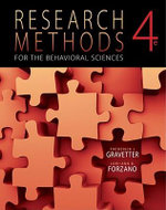 Research Methods for the Behavioral Sciences - Frederick J Gravetter