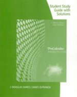 Study Guide with Solutions for Faires/Defranza's Precalculus, 5th - J Douglas Faires