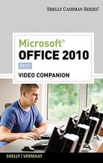 Video DVD for Shelly/Vermaat's Microsoft Office 2010 : Brief - Gary B Shelly