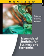 Essentials of Statistics for Business and Economics - David R Anderson