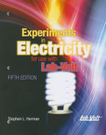 Experiments in Electricity for Use with Lab-Volt : For Use With the Lab-volt Ems Training System - Stephen L Herman