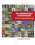 The Essentials of Statistics : A Tool for Social Research - Dr Joseph F Healey