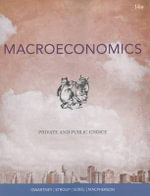 Macroeconomics : Private and Public Choice - James D Gwartney